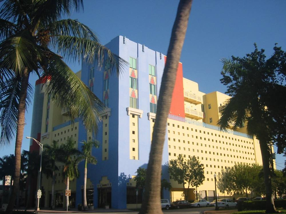 Art-Deco Hotel Miami