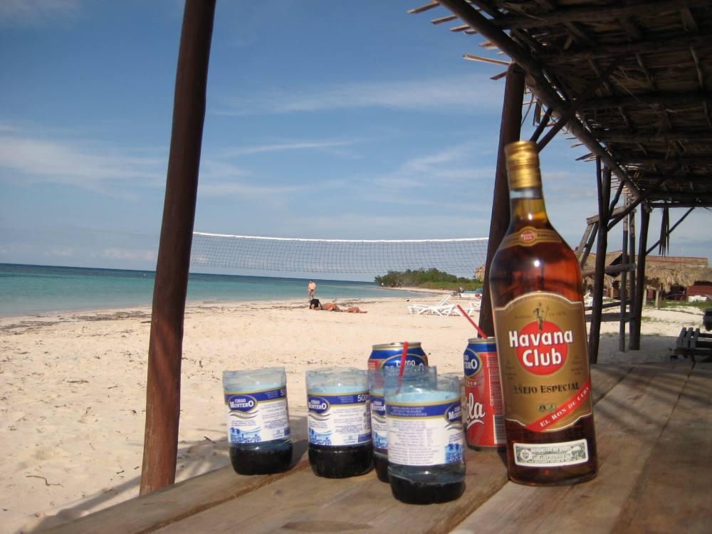 Notfall-Mojito im Strandurlaub