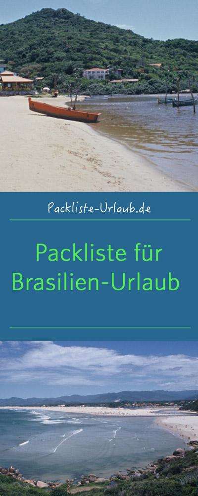Packliste Brasilien