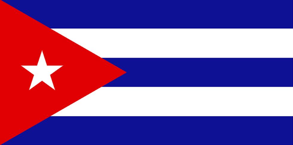 Packliste Kuba-Flagge