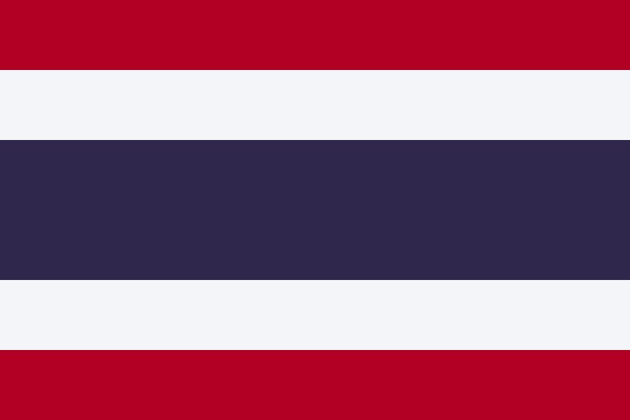 Packliste Thailand-Flagge
